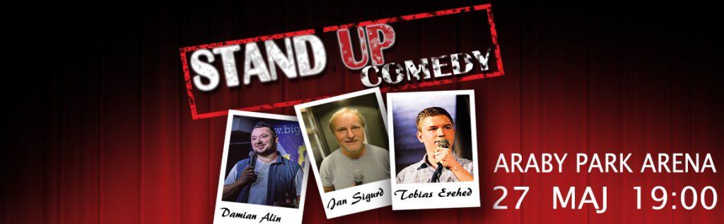 Stand up comedy Växjö 2018